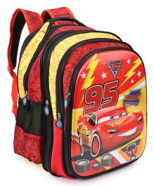 Disney Pixar Cars McQueen 95 School Bag Red - 16 inch