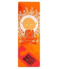 Gravolite Premium Meditating Buddha Yoga Mat - Orange