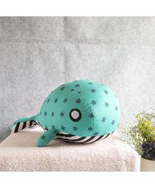 BOBTAIL by Misha's Creation Whale Soft Toy - Green