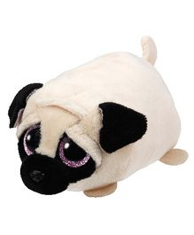 Jungly World Candy Tan Pug Dog Soft Toy Cream - 4 Inches