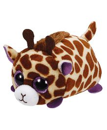 Jungly World Mabs Giraffe Soft Toy Brown - 4 Inches