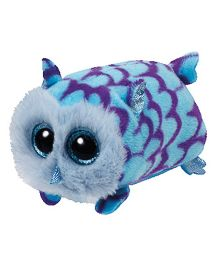 Jungly World Mimi Owl Soft Toy Blue - 4 Inches