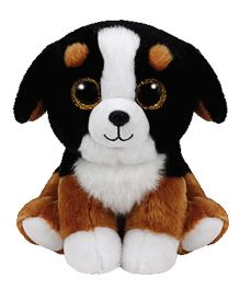 Jungly World Roscoe Dog Soft Toy Black - 6 Inches