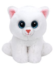 Jungly World Pearl Cat Soft Toy White - 6 Inches