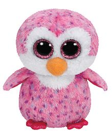 Jungly World Glider Penguin Soft Toy Pink - 6 Inches