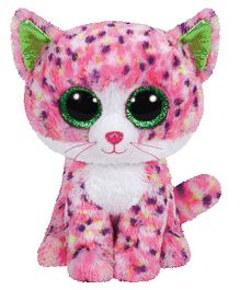 Jungly World Sophie Cat Soft Toy Pink - 6 Inches