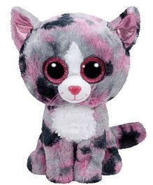 Jungly World Lindi Cat Soft Toy Pink - 6 Inches