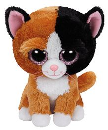 Jungly World Tauri Cat Soft Toy Brown - 6 Inches