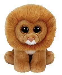 Jungly World Louie Lion Soft Toy Brown - 6 Inches