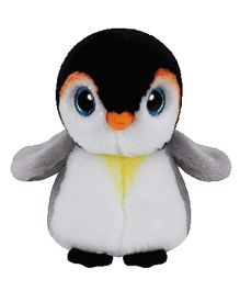 Jungly World Pongo Penguin Soft Toy White Black - 6 Inches