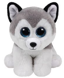 Jungly World Husky Puppy Soft Toy Grey White - 16 cm