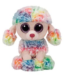 Jungly World Poodle Puppy Soft Toy Multicolour - 16 cm