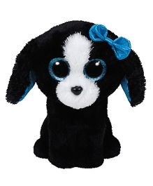 Jungly World Puppy Soft Toy Black White - 16 cm
