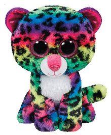 Jungly World Leopard Soft Toy Multicolour - 16 cm