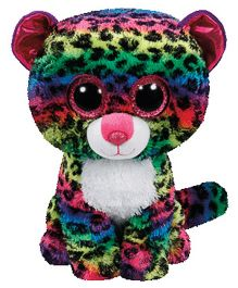 Jungly World Leopard Soft Toy Multicolour - 22 cm