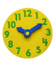 Cutez Learning Clock - Multi Color (Color May Vary)