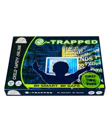 CQKids e-Trapped Strategy Game - Blue