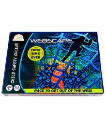 CQ Kids Webscape Board Game - Blue
