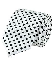 Tiekart Monochrome Tie For Boys - White