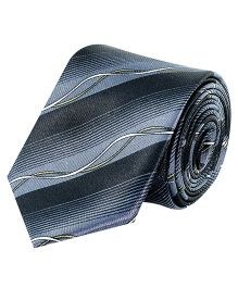 Tiekart Monochrome Tie For Boys - Grey