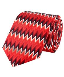 Tiekart Buzzing Energy Tie For Boys - Red