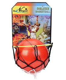 Negi Deluxe Basket Ball Set - Orange