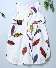 Pixi Classy Fitted Tulia Dress - White