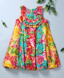 Pixi Smart Casual Bubble Dress - Multicolour