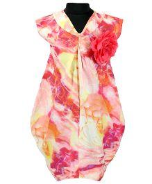 Pixi Stylish Tulia Dress - Peach