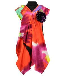 Pixi Stylish Tulia Dress - Orange