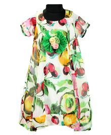 Pixi Gorgeous Asymmetrical Dress - Multicolour