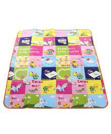 Animal Print Baby Play Mat - Multi Color