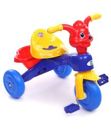 Mee Mee Cheerful Tricycle With Music CH-9888 - Blue And Yellow