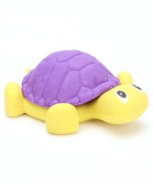 Tortoise Shape Eraser - Yellow And Purple (Color May Vary)