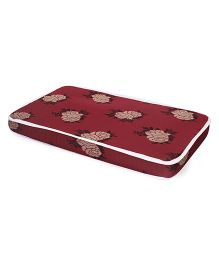 Spring Air Foam Mattress Maroon (Prints May Vary)