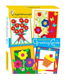 Lighthouse Greeting Card Pre-cut Shapes - Multi Color