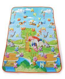 Multi Print Baby Play Mat - Multi Color