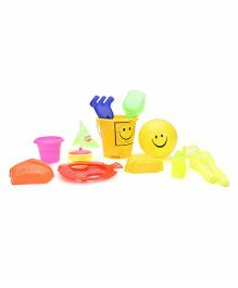 Negi Smiley Beach Set - Multi Color