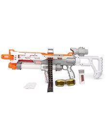 Commando Terrornator 65 Machine Gun Toy - Grey And Orange
