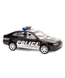 Commando Pull Back SWAT Police Toy Car - Black