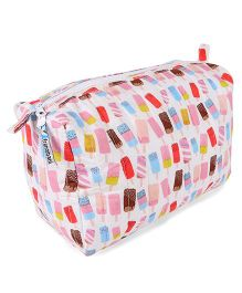 Frangipani Kids Popsicle Print Toiletry Bag - Multicolour