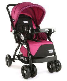LuvLap Galaxy Baby Stroller - Pink & Black