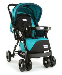 LuvLap Galaxy Baby Stroller - Green & Black