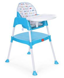 LuvLap 3 in 1 Baby High chair - Blue