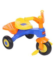 LuvLap Charlie Baby Tricycle With Horn 18319 - Orange