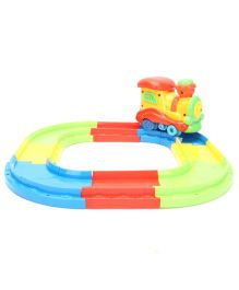 Train Track Baby Musical Toy Multi Color - 13 Pieces