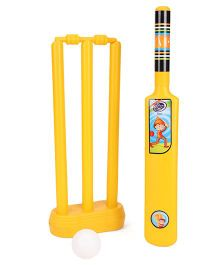 Lata Toys Howzzat Junior Cricket Set - Yellow