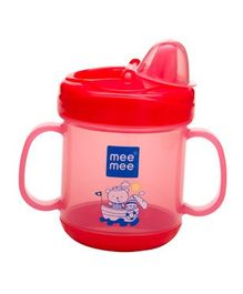 Mee Mee Twin Handle Non Spill Sipper Cup Red - 180 ml