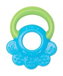 Mee Mee Silicone Teether - Green and Blue