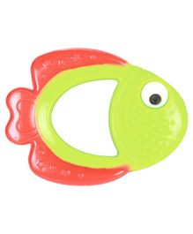 Mee Mee Silicone Teether - Pink and Green
